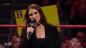 Stephanie McMahon, Roman Reigns, Karl Anderson and Luke Gallows Segment