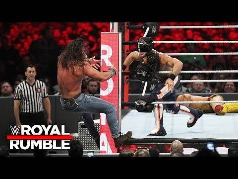Seth Rollins eliminates Elias from the Royal Rumble Match: Royal Rumble 2019 (WWE Network Exclusive)