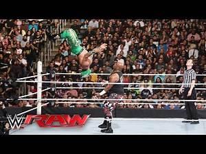 Lucha Dragons vs. Dudley Boyz - No. 1 Contenders' Tag Team Tournament: Raw, April 11, 2016