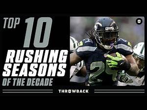 Top 10 Rushing Seasons of the 2010's!
