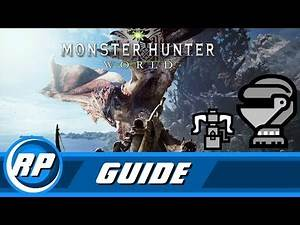 Monster Hunter World - Heavy Bow Gun Armor Progression Guide (Obsolete by patch 12.01)
