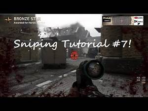 How to Quickscope on WW2! Quickscoping Centering Tips & Tricks! CoD WWII Sniping Tutorial! #ObeyRC