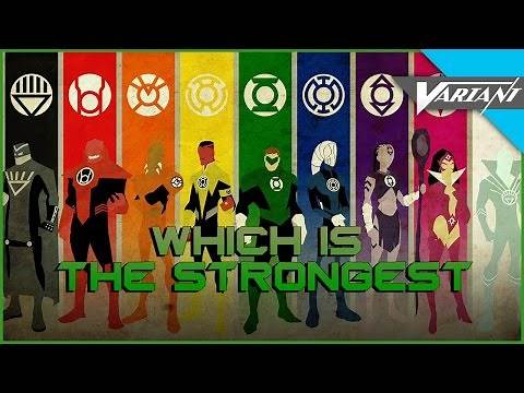 Which Lantern Corps Is The Strongest?