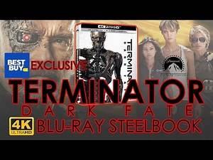 Terminator Dark Fate (2019) 4K Bluray Steelbook Unboxing | Best Buy Exclusive (4K Video)