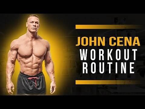 John Cena Workout Routine Guide