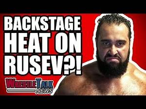 Rusev PULLED From MAJOR WWE Match!   WrestleTalk News Apr. 2018