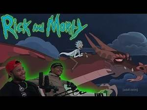 RICK AND MORTY SEASON 4 EPISODE 4 LIVE REACTION | HOW TO TRAIN YOUR DRAGON
