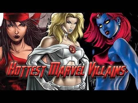 Top 10 HOTTEST Marvel Female Super Villains