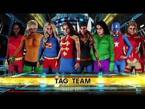 Wwe2k18 Justice League Vs The Avengers!
