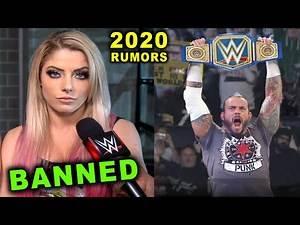 10 Shocking WWE Rumors for 2020 - CM Punk Wins Universal Title
