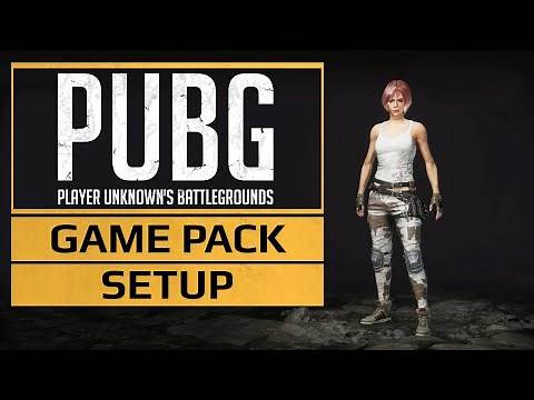 PUBG ◀ GAME PACK Setup (MOD PASS) Tutorial ▶ Initial setup to get the Game Pack up and running