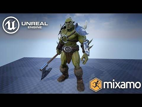 Unreal Engine Character Tutorial - Animate And Move A 3D Character In Unreal Engine 4