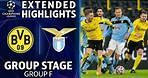 Dortmund vs. Lazio: Extended Highlights | UCL on CBS Sports
