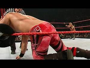 Edge vs. Chris Jericho: Raw, Aug. 9, 2004 on WWE Network