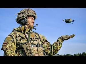 British Army unveils bug-like drones which can withstand 40mph winds