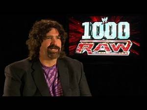Mick Foley wins his first WWE Championship - Raw's 1,000th
