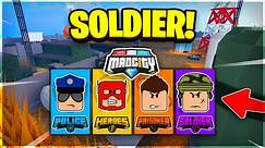 I BECAME A *SOLDIER* IN MAD CITY! 🎖️ Roblox Mad City