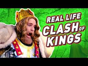 REAL LIFE CLASH OF KINGS (BTS)