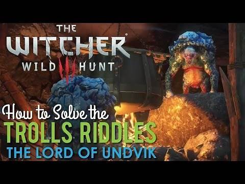 How to solve the Trolls Riddles in The Lord or Undvik, Witcher 3