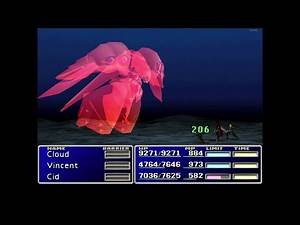 Final Fantasy VII - Emerald Weapon [Initial Equipment, no Knights of the Round]