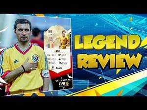 MY FAVOURITE PLAYER IN FIFA 16 ULTIMATE TEAM - FIFA 16 LEGEND HAGI PLAYER REVIEW