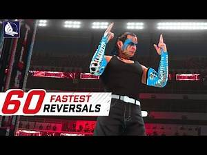 Top 60 Fastest Finishers (Reversals!) in WWE 2K19