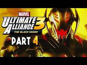 Marvel Ultimate Alliance 3 The Black Order Part 4 - ULTRON! Gameplay Walkthrough