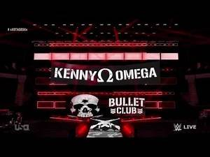 WWE Stage Kenny Omega - Raw Draft 2017