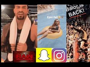 WWE Snapchat/IG Moments ft. Roman Reigns, Becky Lynch, Randy Orton (Post WrestleMania n RAW)
