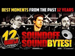 12 Years Of SOUND OFF Moments (With Pics And Video!)