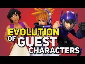 Evolution of Kingdom Hearts Guest Characters