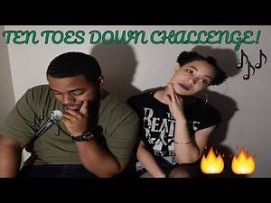 Couple Reaction to Ten Toe Down Challenge Compilation!!!