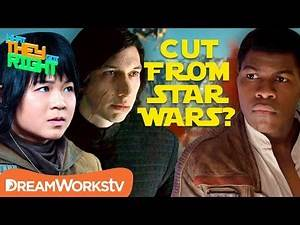 Which Character Was Almost CUT From Star Wars The Last Jedi??   WHAT THEY GOT RIGHT