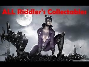 """Batman Arkham City"", ALL Riddler's challenges (trophy/secret/riddle) for Catwoman"