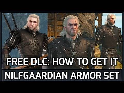 Witcher 3: How to Get the Nilfgaardian Armor Set FREE DLC