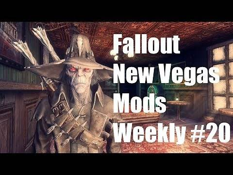 Fallout New Vegas Mods Weekly 20 - Collision Mesh Overhaul, Chakan The Forever Man, Pip-Phone 3000