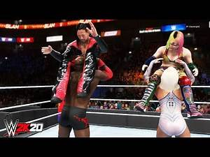 Bobby Lashley & Lana vs Shinsuke Nakamura & Asuka- Mixed Tag Team Match-WWE-2K20-Gameplay