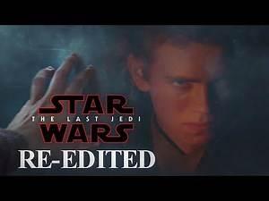 The Last Jedi - Rey see's Anakin Skywalker (RE-EDITED Scene)