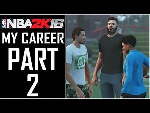 """NBA 2K16 - MyCareer - Let's Play - Part 2 - """"Career Intro, Abilities, And Animations"""" 