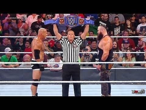 FULL MATCH - Goldberg vs. Braun Strowman - Universal Championship Match : Mar 2, 2020