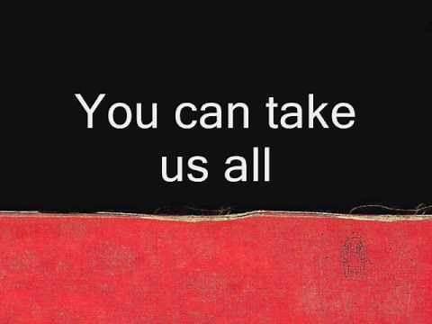 Radiohead - You and whose army ( with lyrics )