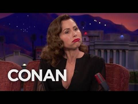 Minnie Driver Plays Her Mouth-Trumpet - CONAN on TBS