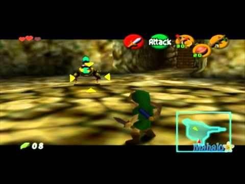 Legend of Zelda: Ocarina of Time Walkthrough - Inside the Deku Tree - Part 2
