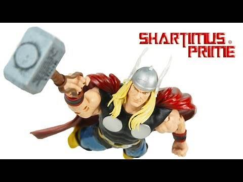 Marvel Legends Thor 80 Years Hasbro Alex Ross Comic Action Figure Review