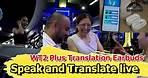 WT2 Plus AI Translation Earbuds Speak Translate live in 93 languages
