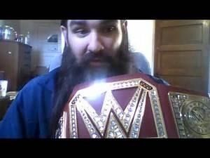 WWE UNIVERSAL CHAMPIONSHIP WWE Shop Toy Belt Review