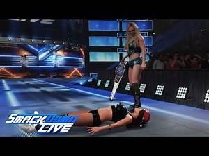 WWE 2K19 Smackdown Live Charlotte Flair attacks Nikki Bella: October 30, 2018