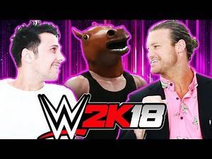 WWE 2K18 WITH DOLPH ZIGGLER reacting to your created wrestlers!