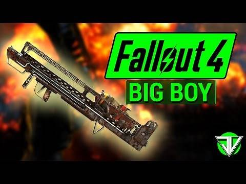 FALLOUT 4: How To Get BIG BOY Highest Damage Weapon in Fallout 4! (Unique Weapon Guide)