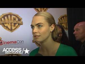 Cara Spills Details On Leto's Joker | Access Hollywood